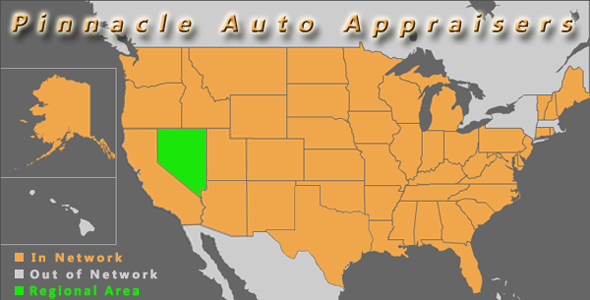 map nevada pinnacle auto appraiser appraisal diminished value